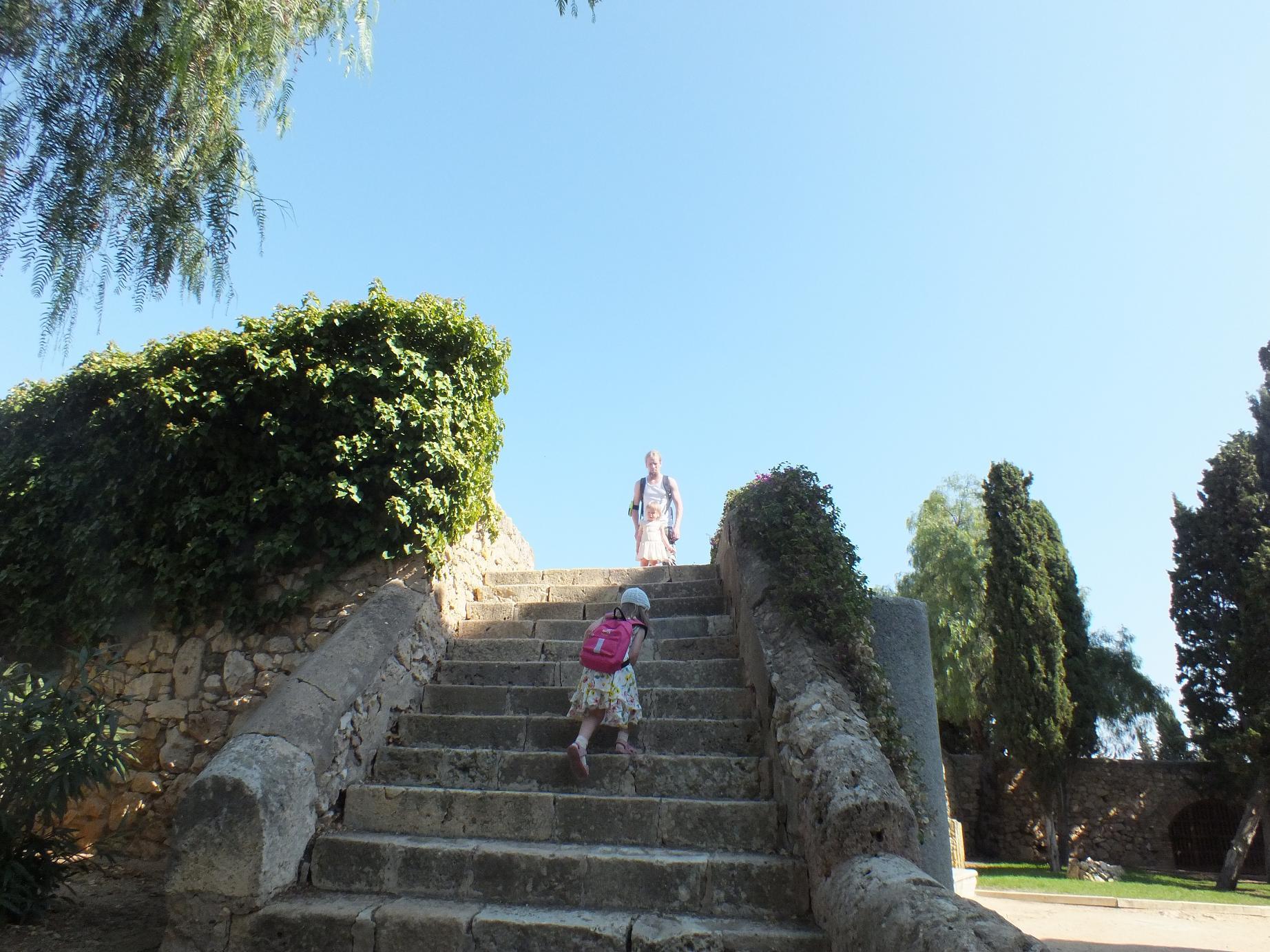 Tarragona_Passeig Arqueològic_stairway