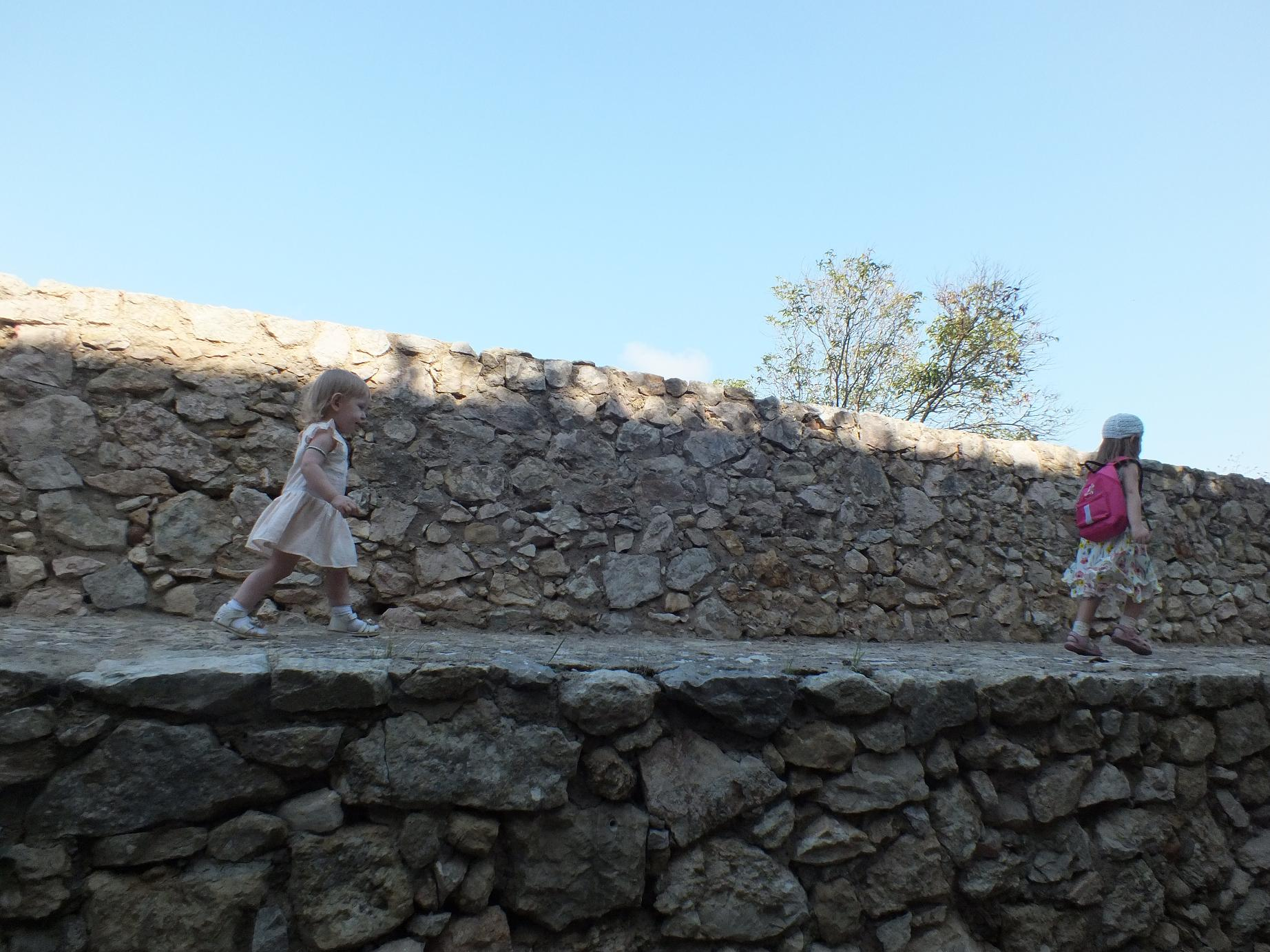 Tarragona_Passeig Arqueològic_walls running