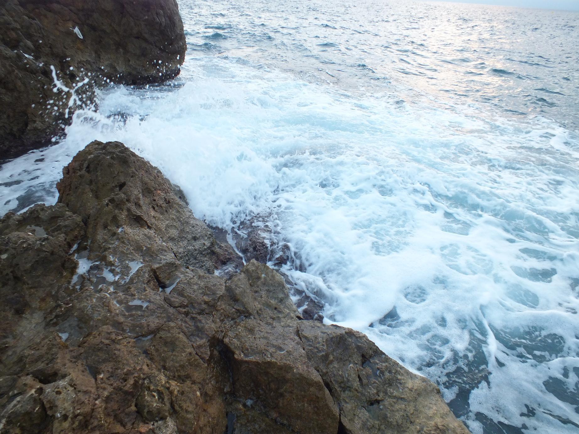 Salou waves