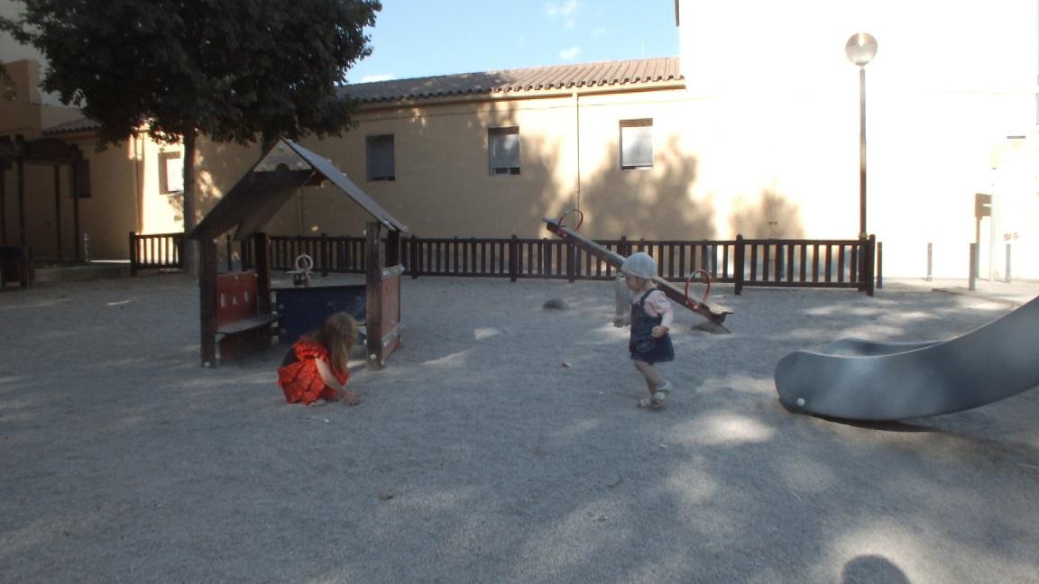 Cambrils children rocky playground
