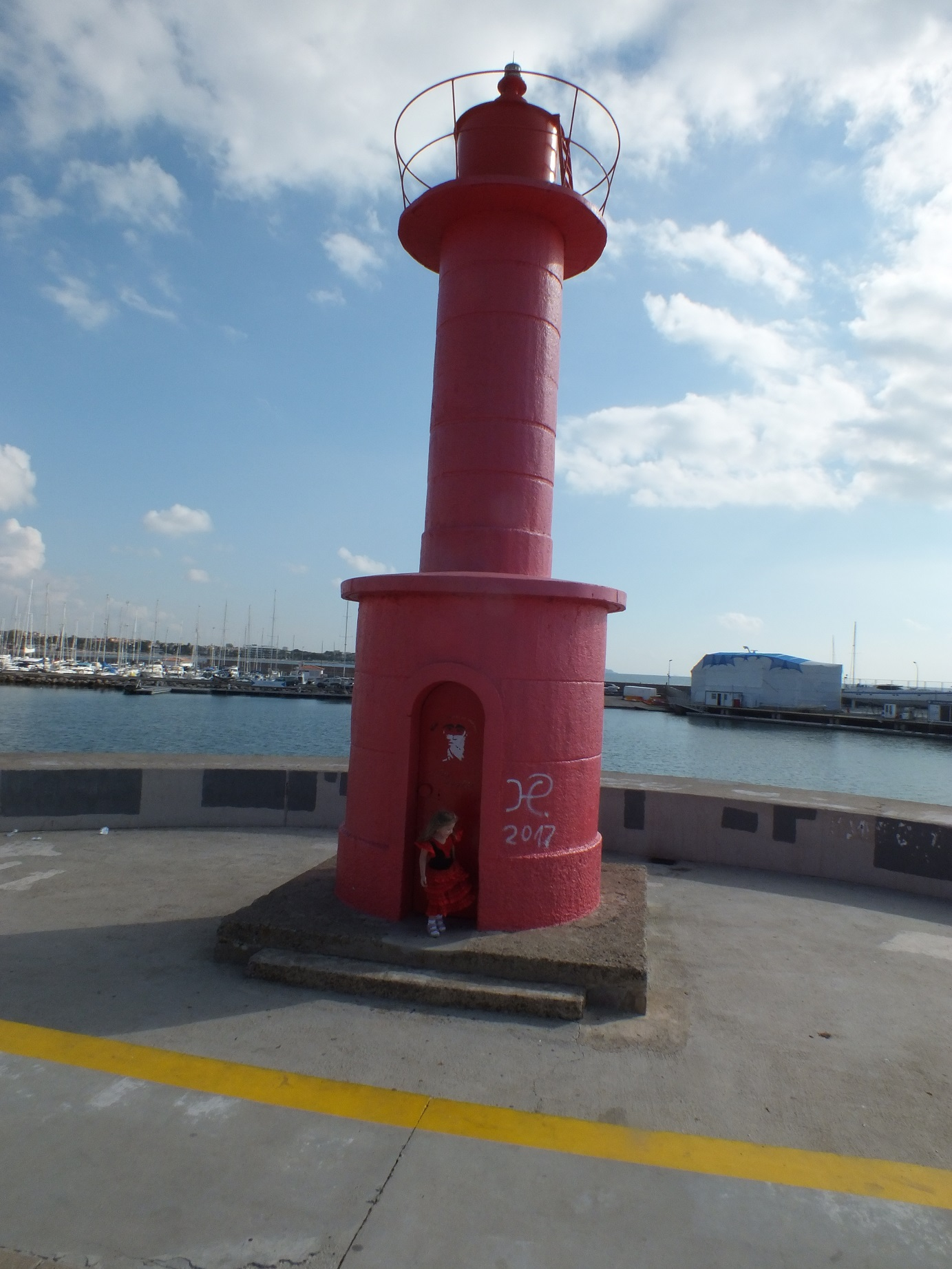 Cambrils lighthouse