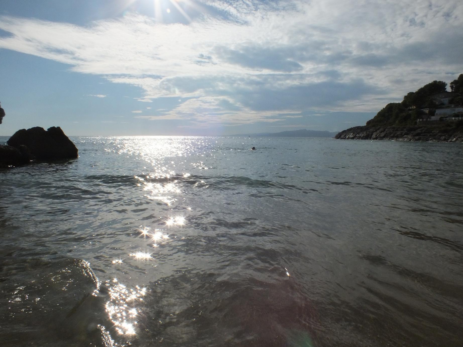 Cap Salou Cala Crancs swim2