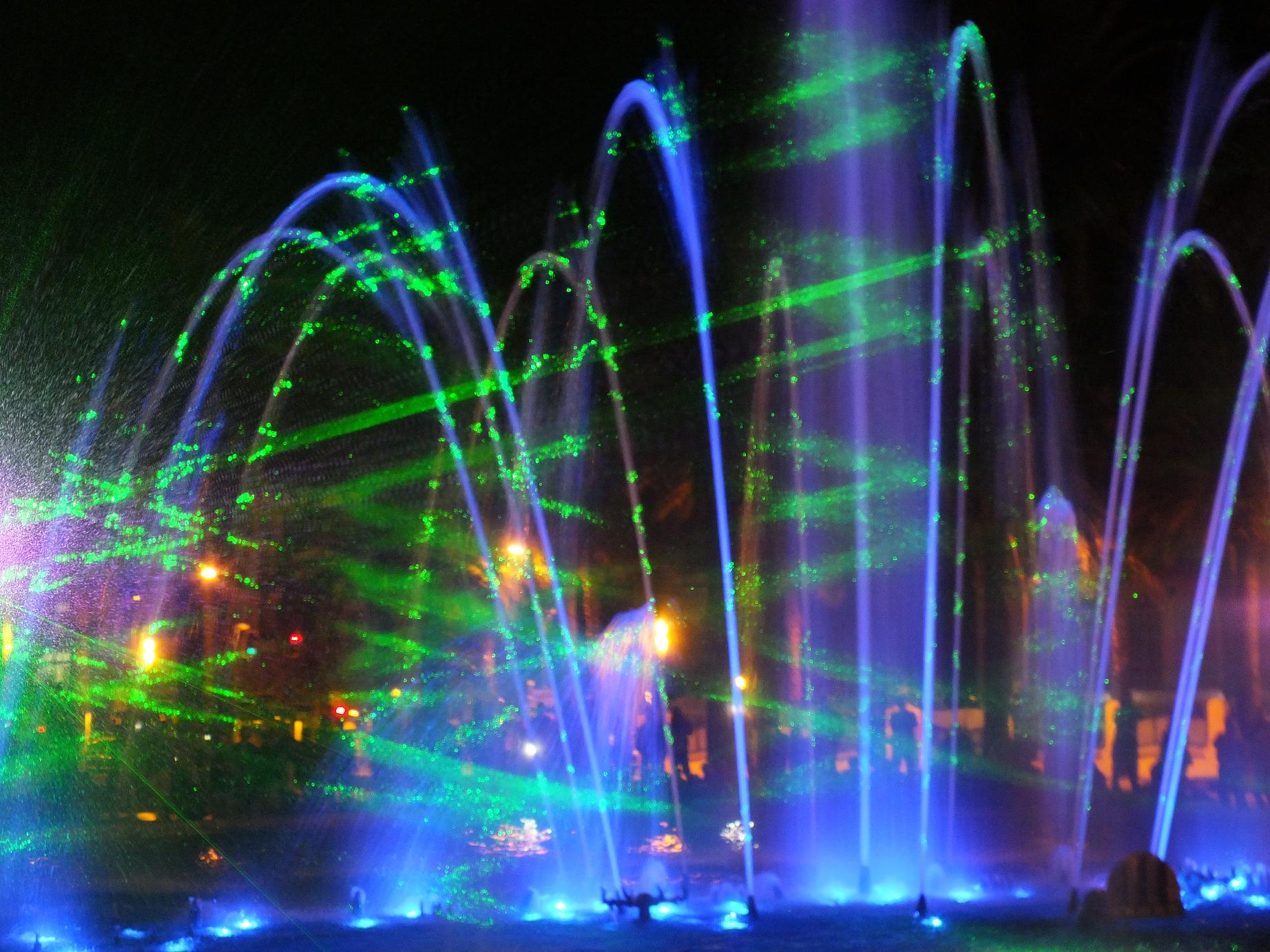 Salou Fountain show