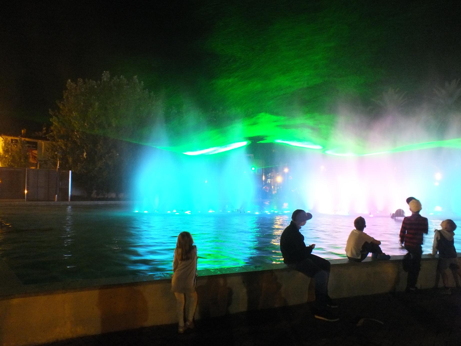 Salou Fountain show3