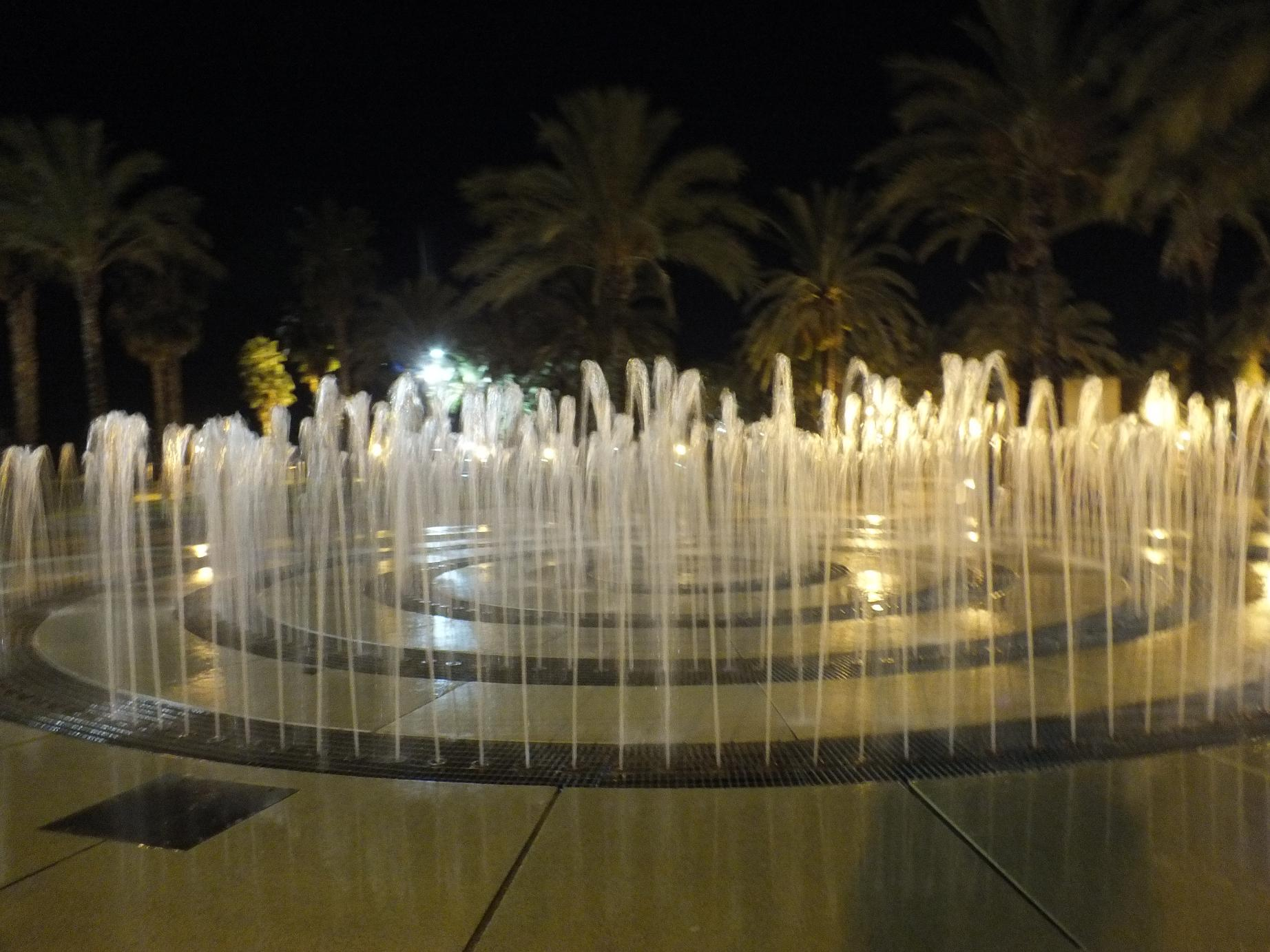 Salou labyrinth fountain
