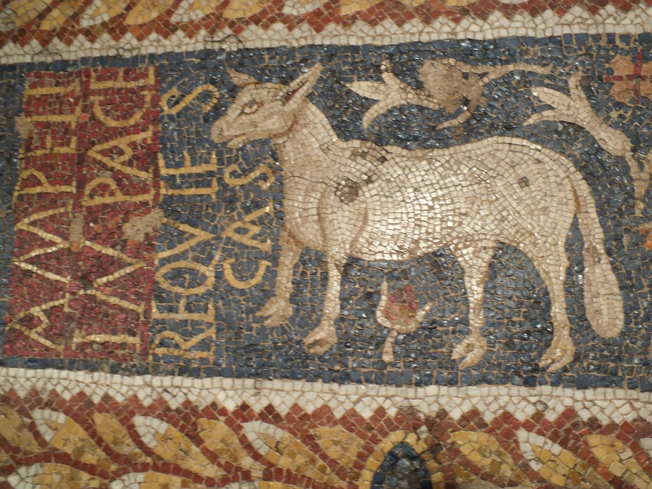 Tarragona burial mosaic