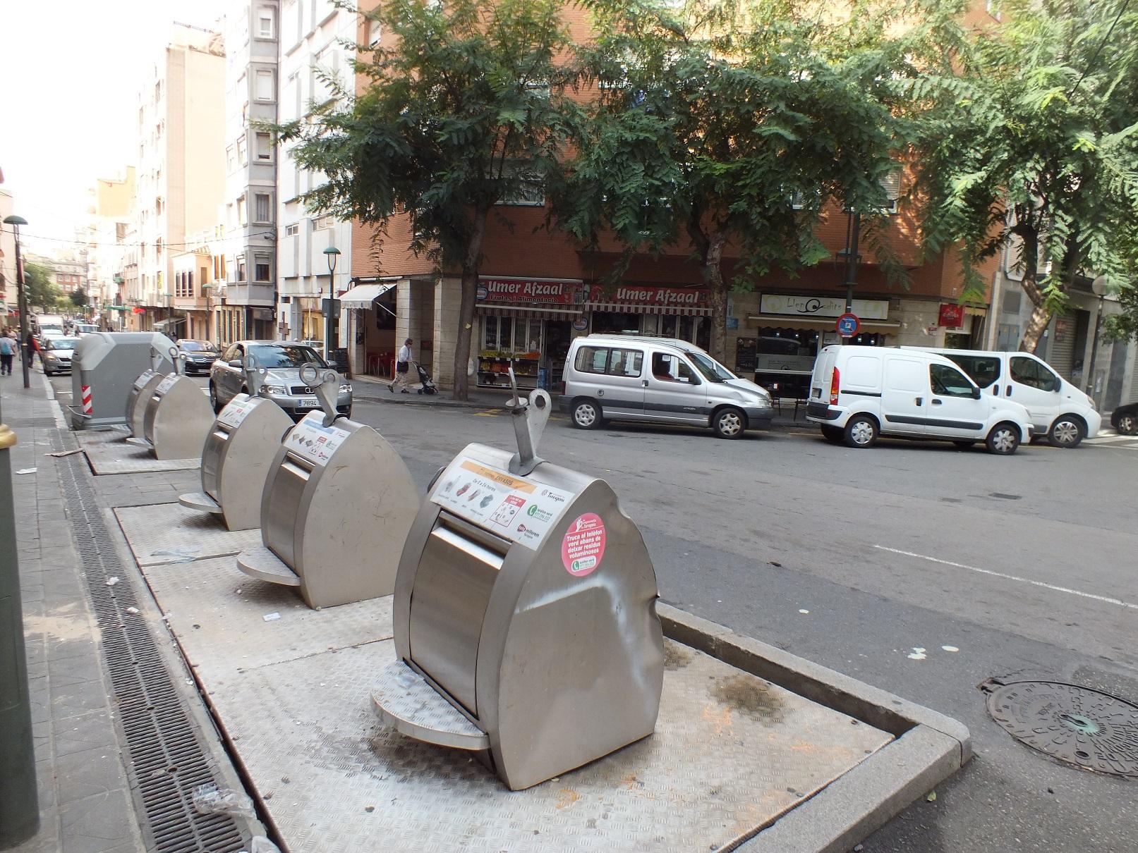 Tarragona dumpster