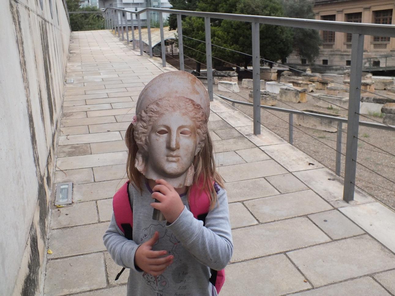 Tarragona necropolis mask