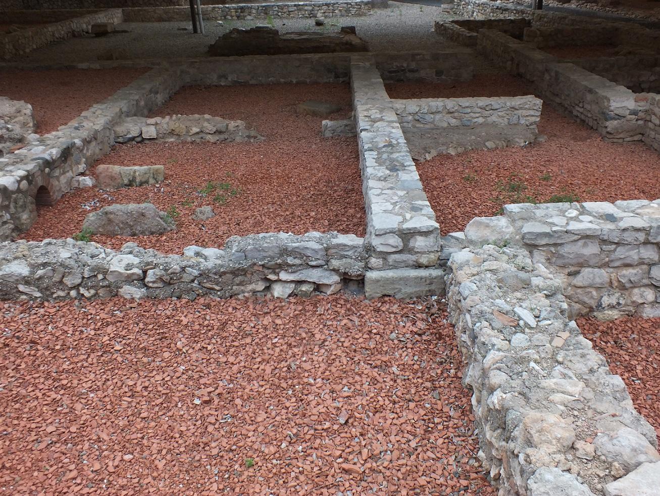 Tarragona necropolis roman house