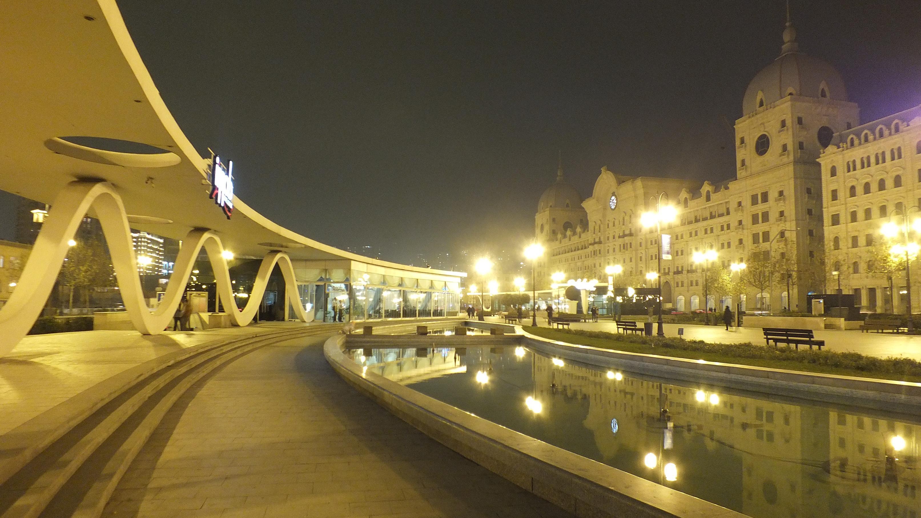 Зимний Бульвар Баку