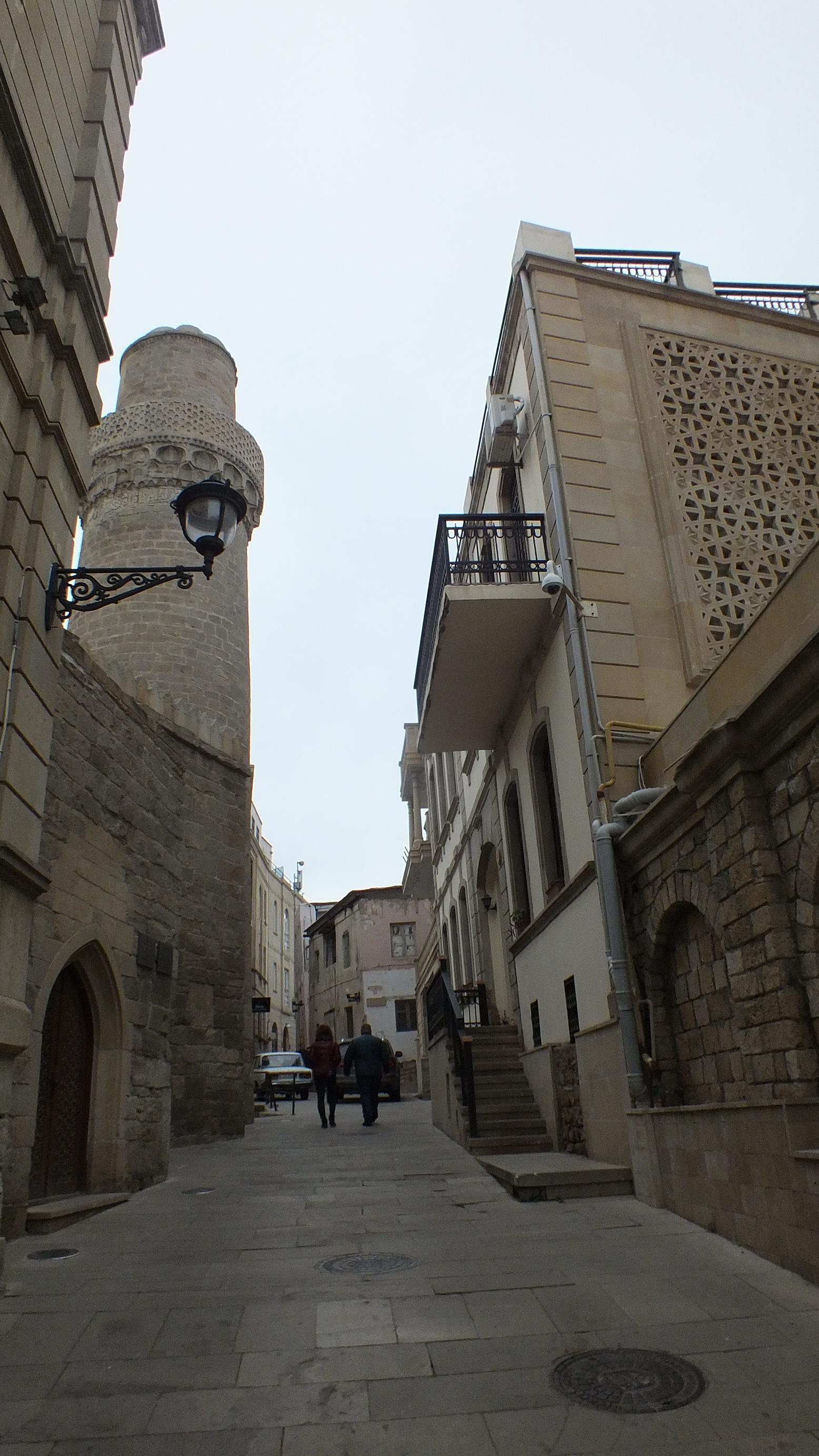 Мечеть Мухаммеда. ИчериШехер. Баку